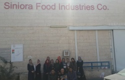 Palestine Polytechnic University (PPU) - جولة ميدانية في شركة سنيورة القدس للصناعات الغذائية