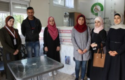 Palestine Polytechnic University (PPU) - طالبات من تخصص التغذية الصحية والعلاجية يعقدون نشاطا تطوعيا في جمعية الاحسان الخيرية