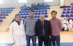 Palestine Polytechnic University (PPU) - الطالبة ياسمين شاهين من كلية العلوم التطبيقية تشارك في بطولة الجامعات للكراتيه وتتوج بالمركز الأول في الكراتيه دون 60كغم للطالبات