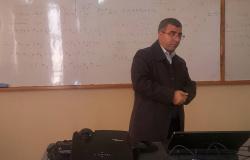 """Palestine Polytechnic University (PPU) - ورشة عمل في كلية العلوم التطبيقية للتعريف """"بالتجمع الفلسطيني للعلوم الحياتية"""""""