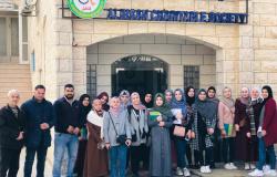 Palestine Polytechnic University (PPU) - طلبة تخصص العلوم الاسرية ينطمون زيارة لجمعية الاحسان الخيرية في الخليل