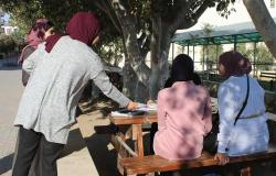 Palestine Polytechnic University (PPU) - طلبة من تخصص التغذية الصحية والعلاجية يوزعون اطباق صحية