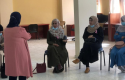 Palestine Polytechnic University (PPU) - طالبات تخصص العلوم الاسرية يزورون جمعية تنظيم وحماية الاسرة/ حلحول