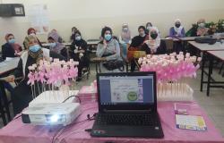 Palestine Polytechnic University (PPU) - دائرة العلوم الانسانية تستقبل فريق من الاغاثة الطبية لعقد لقاء توعوي حول سرطان الثدي