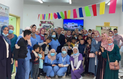 Palestine Polytechnic University (PPU) - طلبة تخصص العلوم الاسرية ينظمون زيارة لمركز دورا الامل لذوي